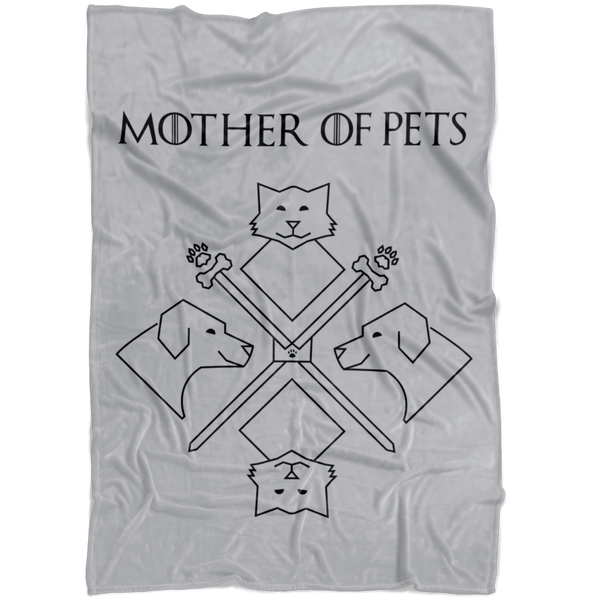 Blankets - Mother Of Pets Fleece Blanket