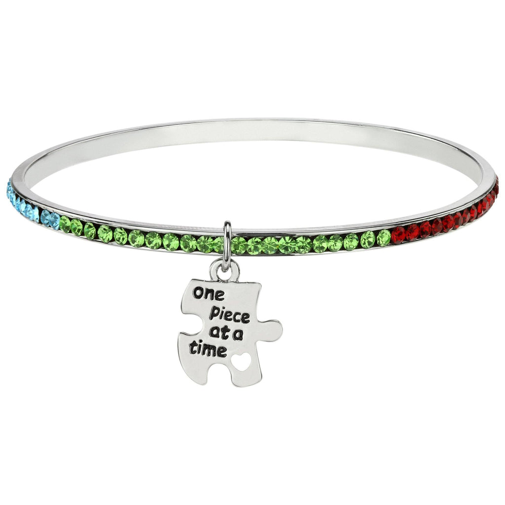 One Piece Autism Awareness Bracelet