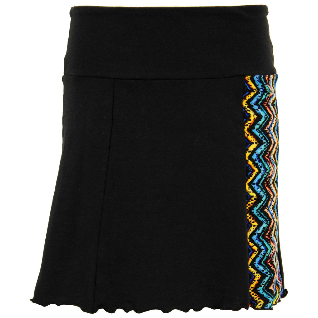 Open Arms Mod Burst Graphic Skirt