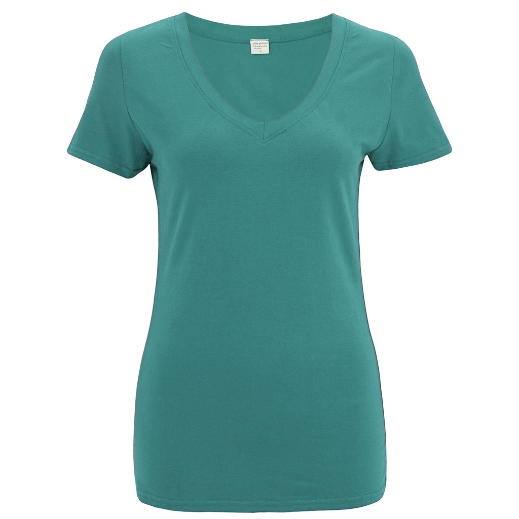Organic Essentials V-Neck Tee