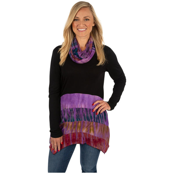 Over The Moon Tunic & Scarf Set