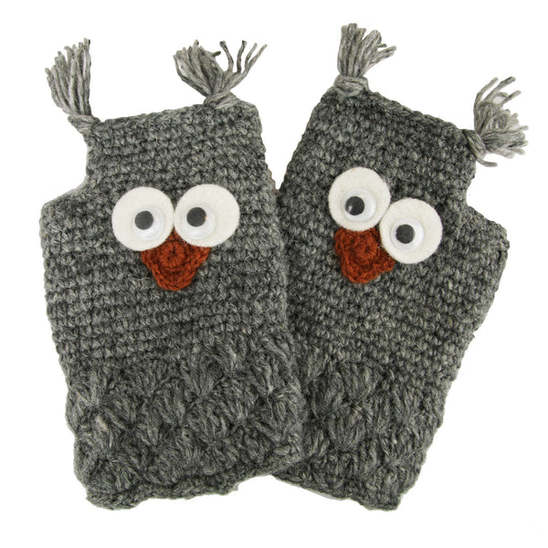 Owl Keep You Warm Wool Hand Warmers