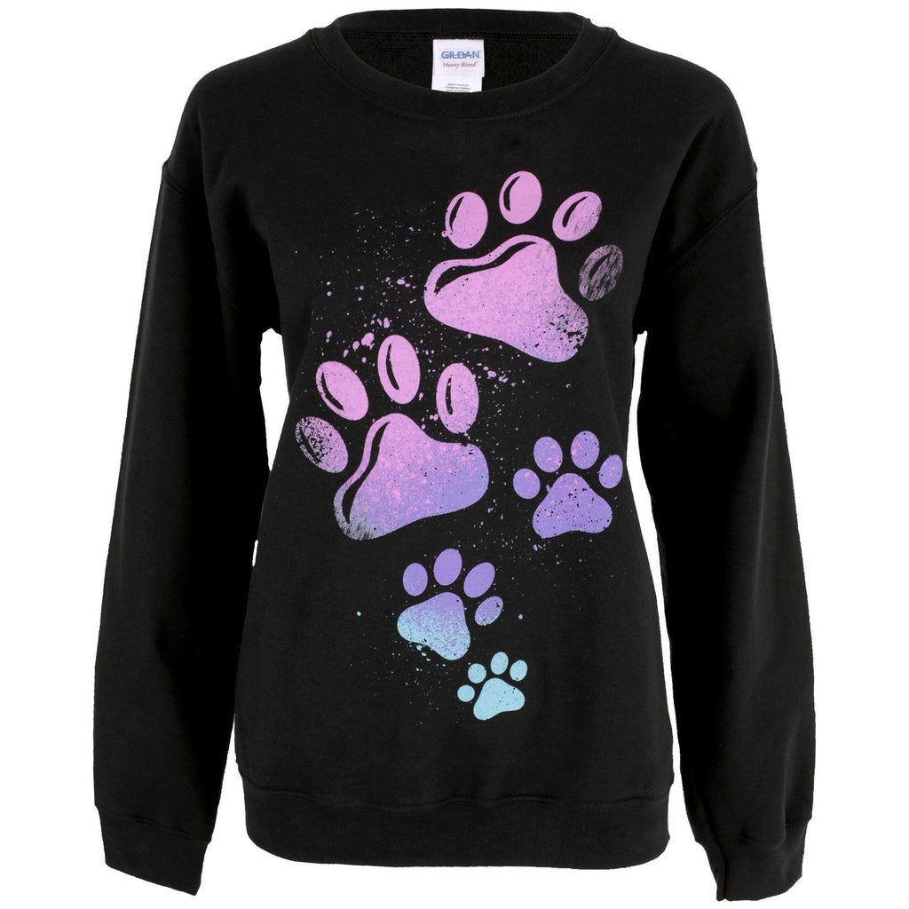 Paint Splatter Paws Sweatshirt