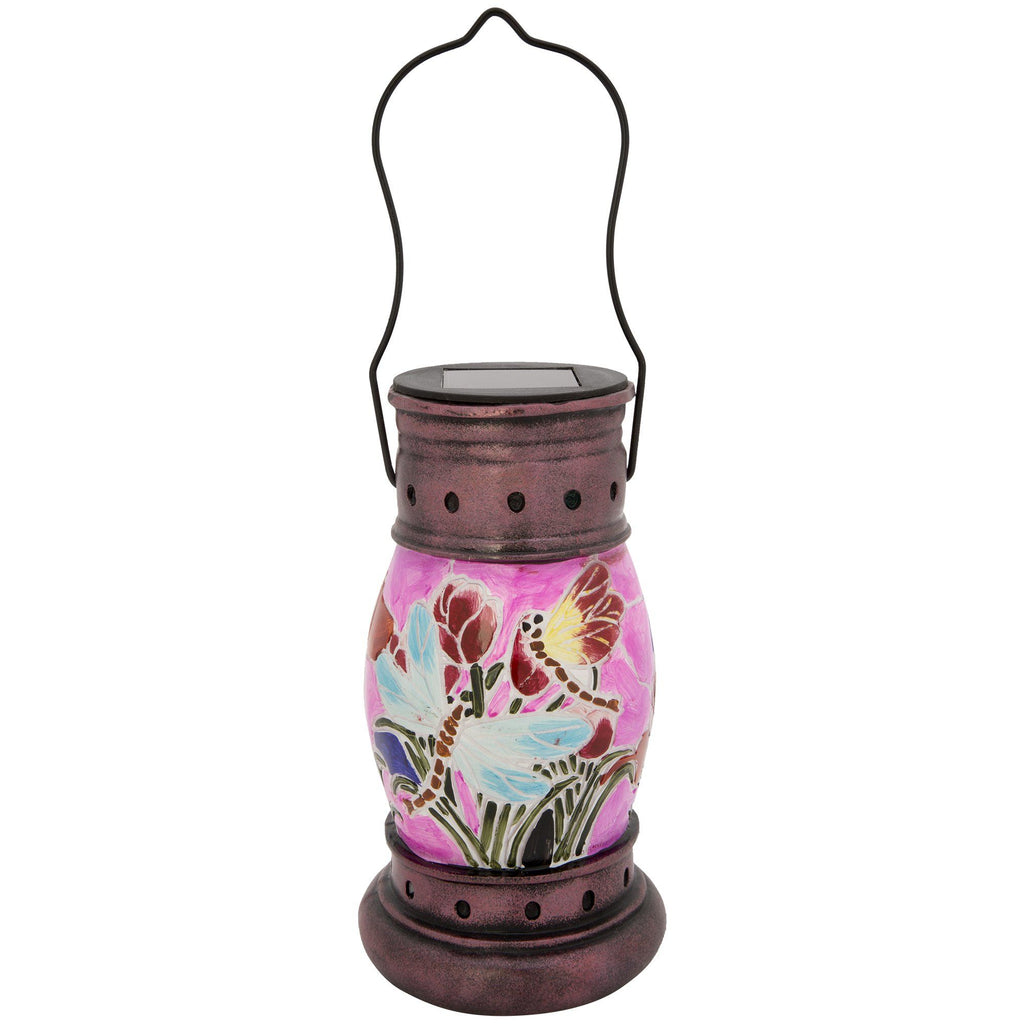 Painted Dragonfly Solar Lantern