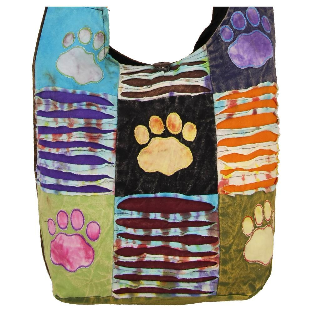 Patchwork Paws Hobo Bag