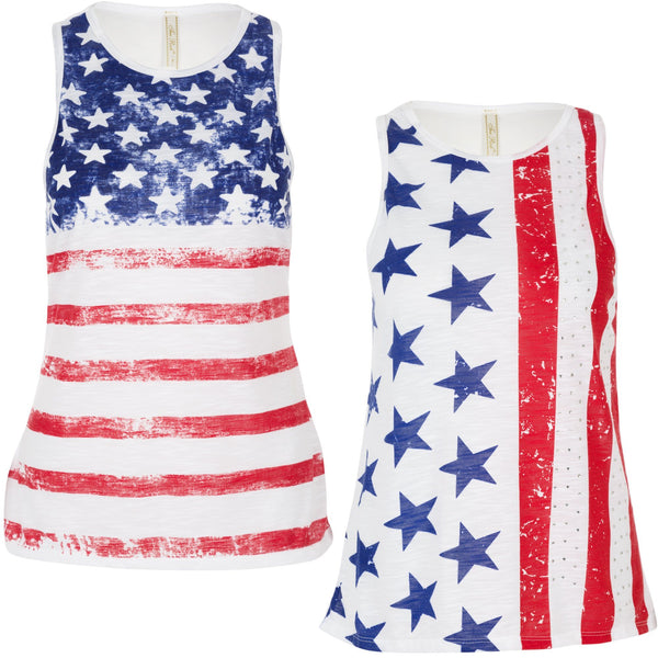 Patriotic Fashion Tank Top