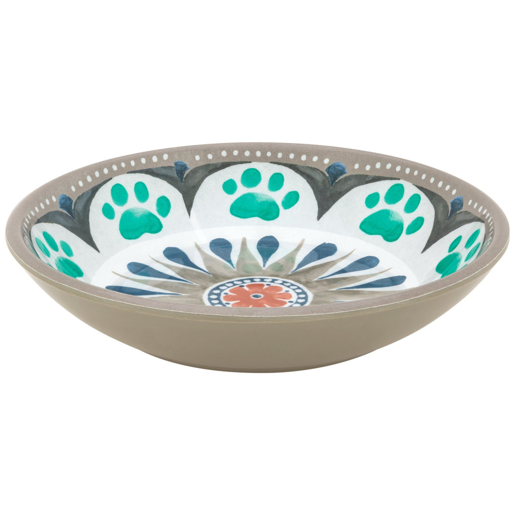 Paw Medallion Cat Saucer