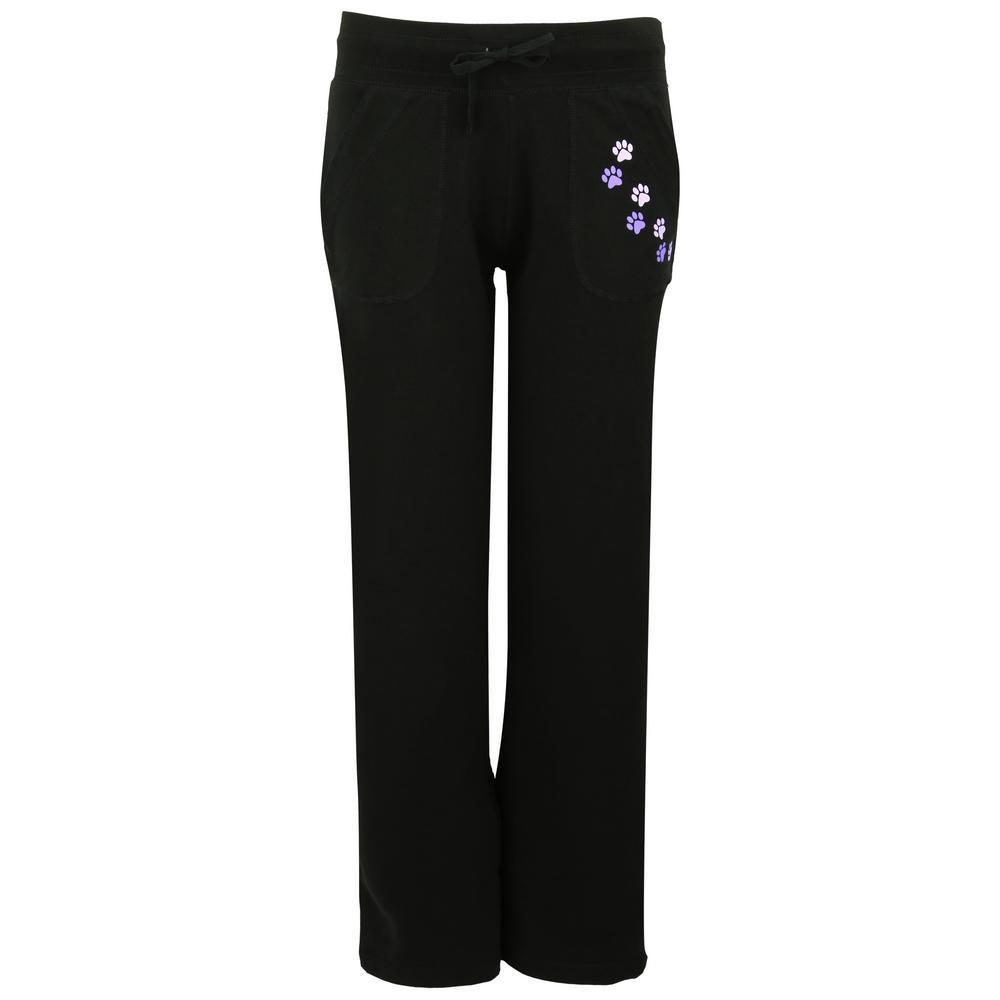 Paw Print Casual Pants