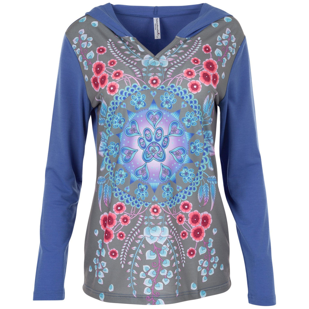 Paw Print Celebration Hooded Top