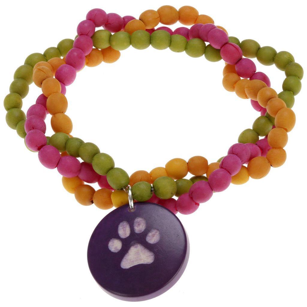 Paw Print Friendship Bracelet