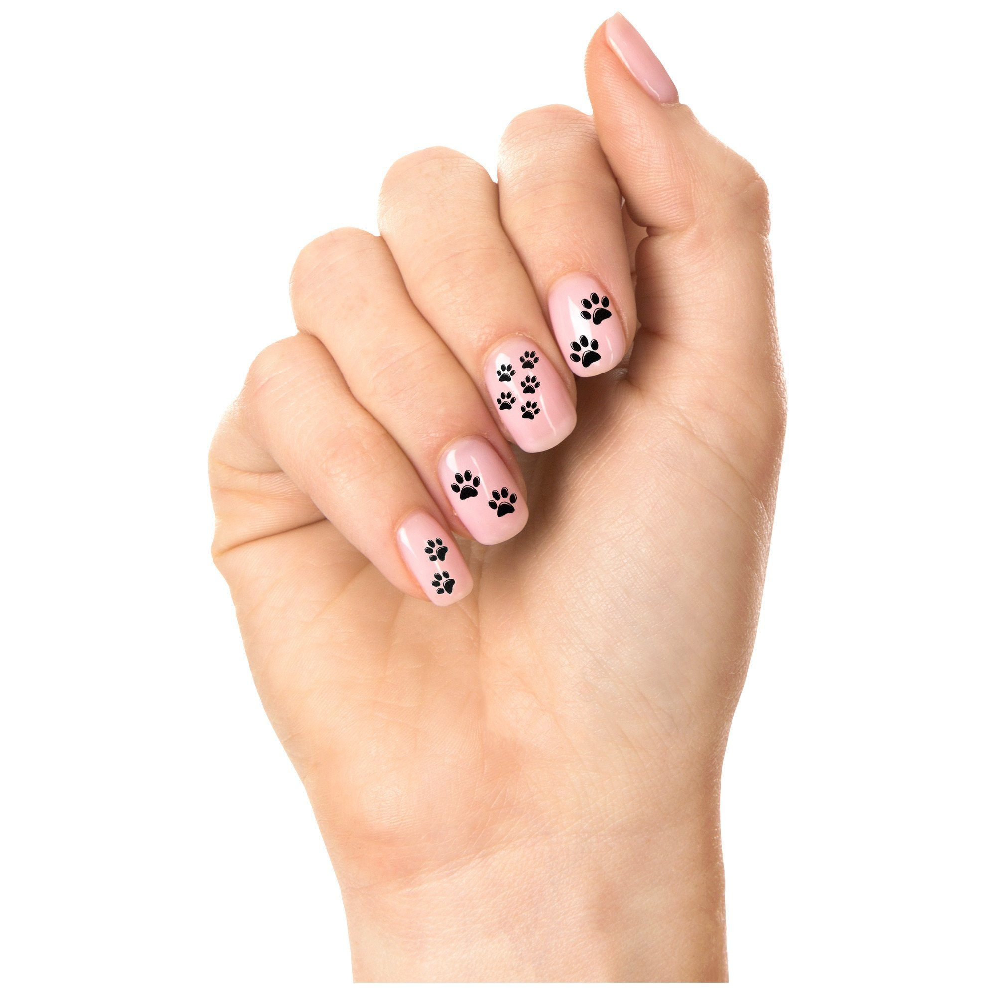 Paw Print Nail Art – GreaterGood