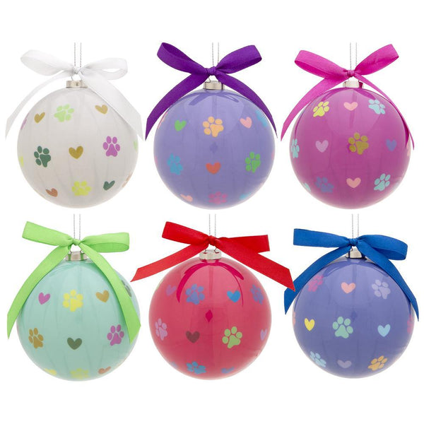 Paw Print Ornaments Gift Set