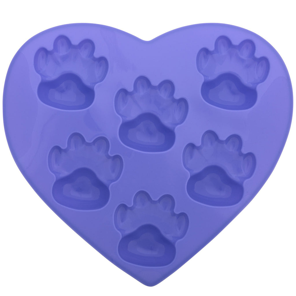 Paw Print Silicone Muffin Pan
