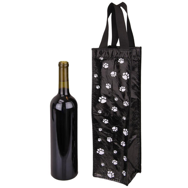 Paw Print Wine Bag
