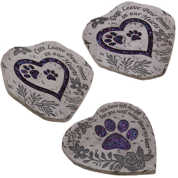 Paw Prints Garden Stepping Stone Collection