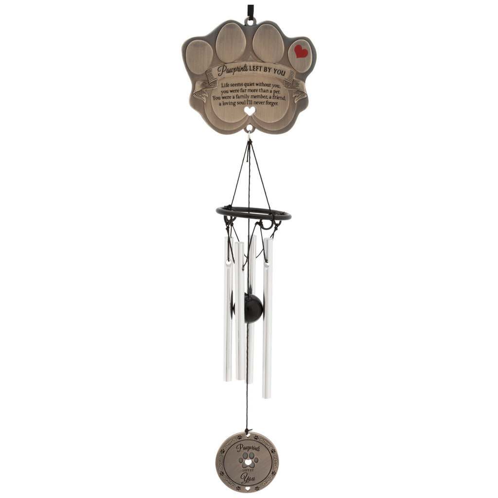Pawprints Left By You Wind Chime