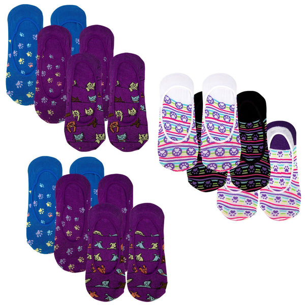 Paws Galore™ No-Show Socks Set