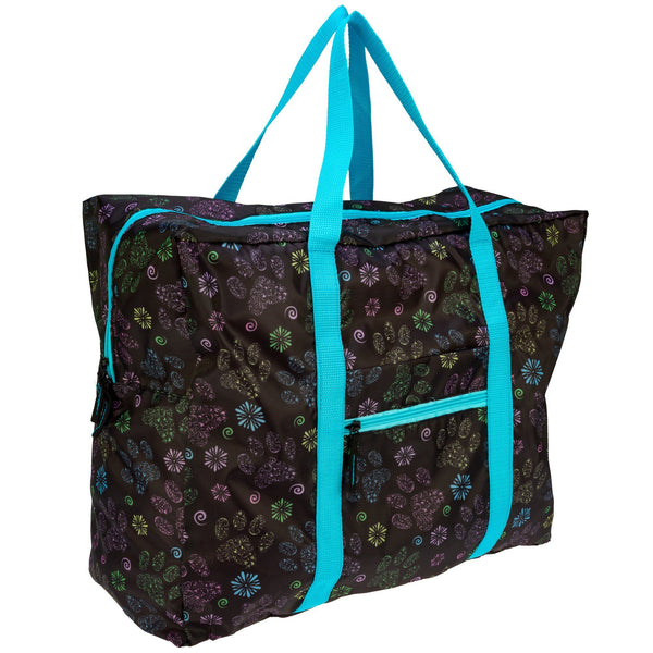 Paws In Bloom Duffel Bag