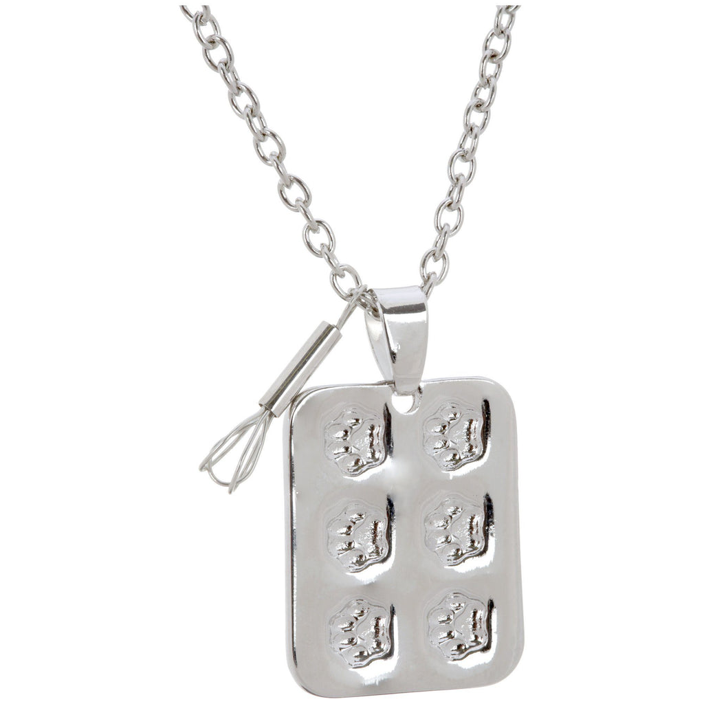 Paws To Bake Muffin Pan Necklace