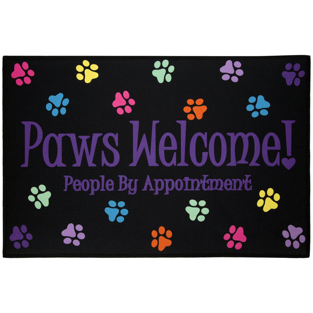 Paws Welcome! Indoor/Outdoor Mat