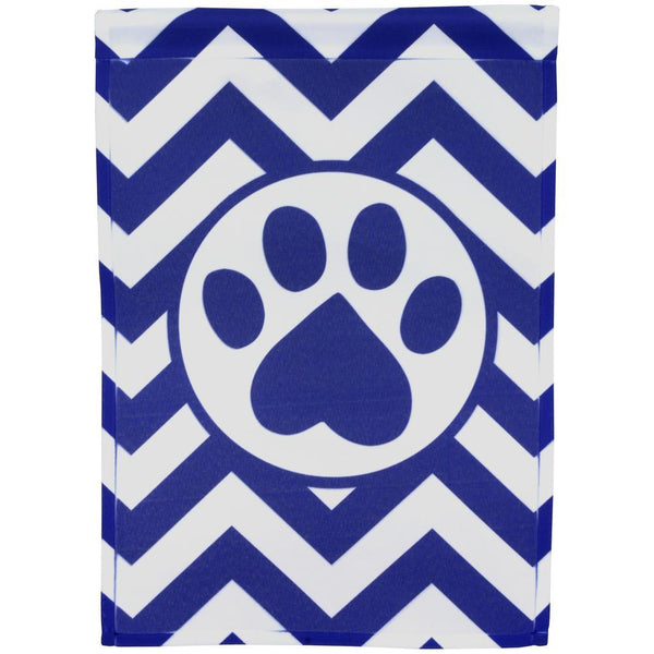 Pawtastic Purple Paw Garden Flag
