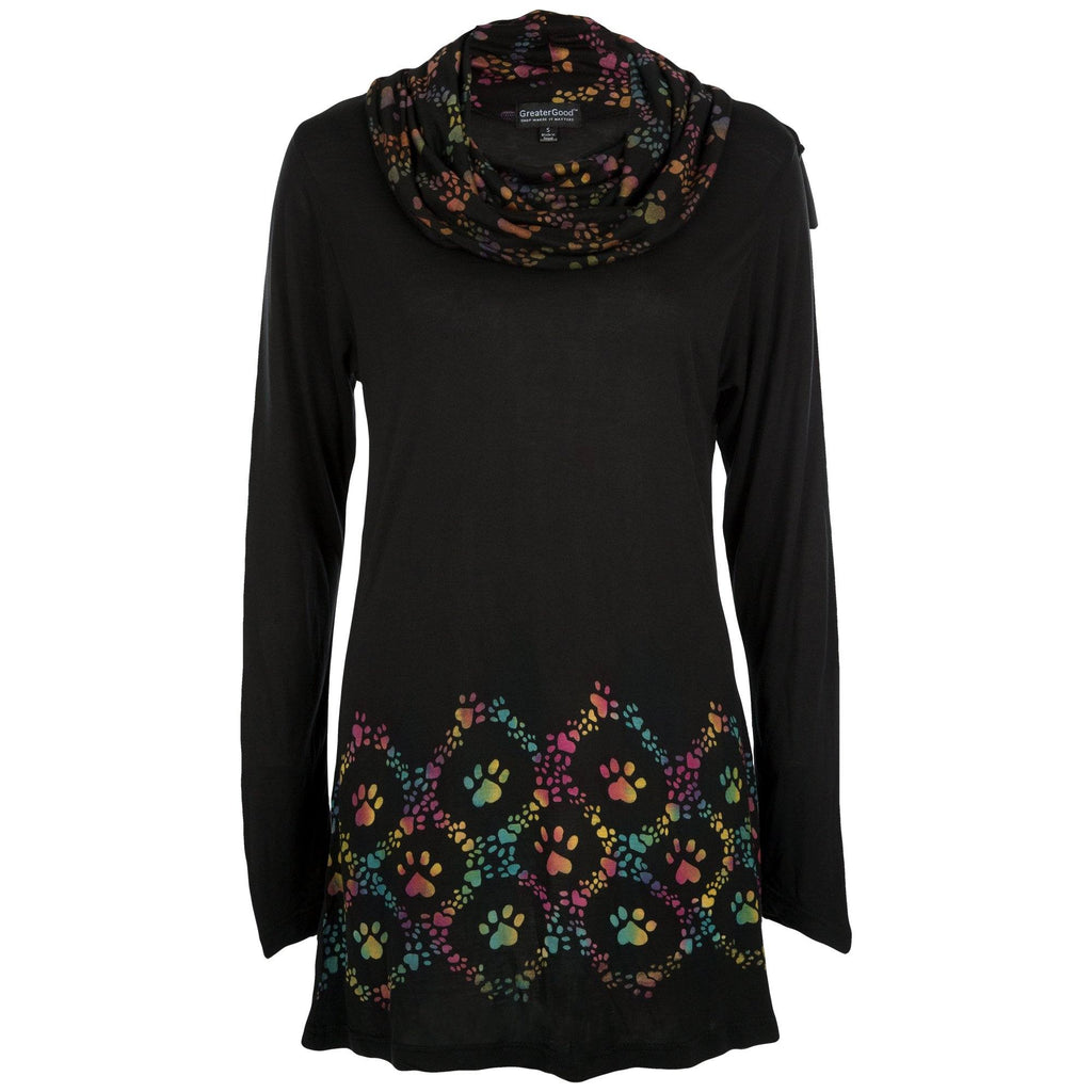 Peace Love & Paw Prints Tunic