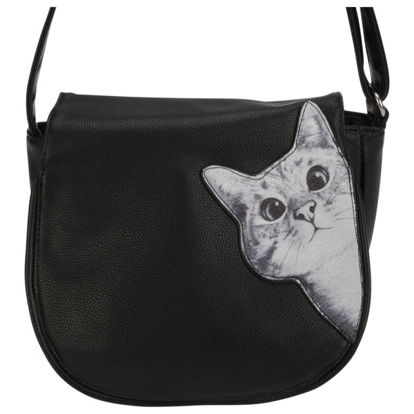 Peeking Cat Shoulder Bag