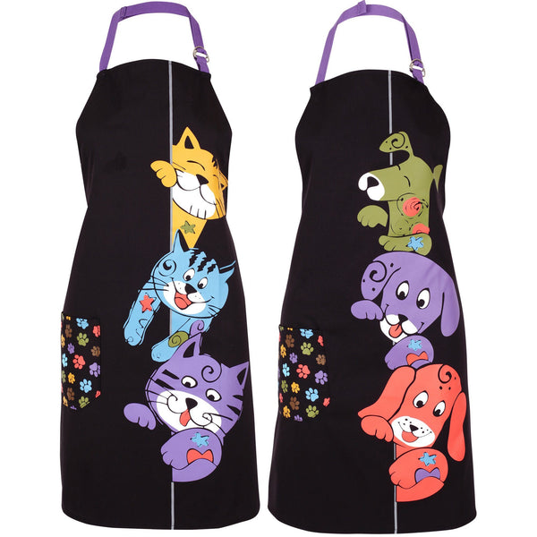Peeping Pets Kitchen Apron Collection