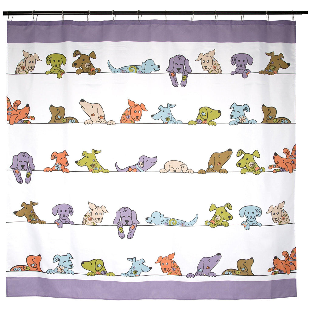 Peeping Pets Shower Curtain
