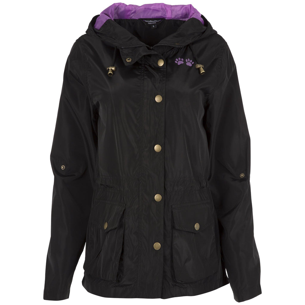 Perfect Layer Paw Print Parka