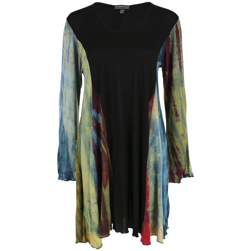 Perfectly Balanced Tie Dye Long Sleeve Tunic