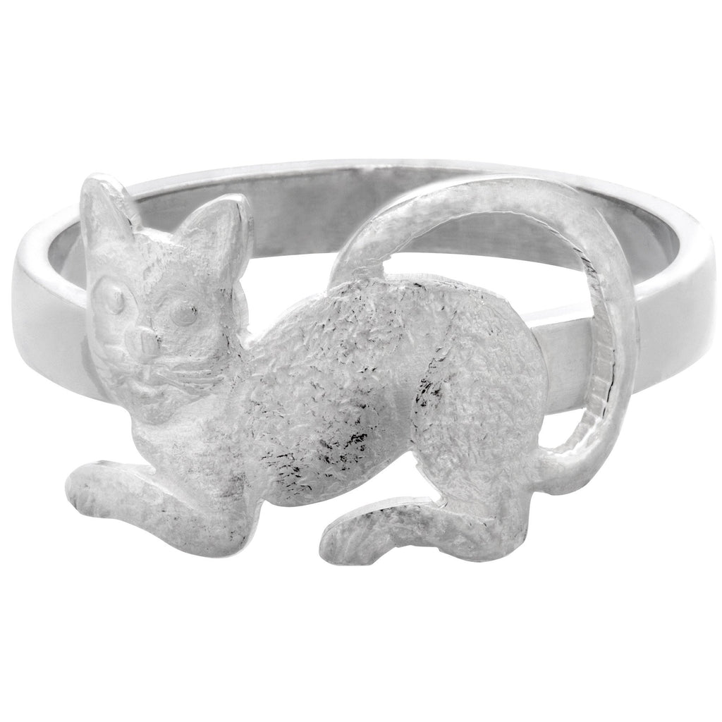 Peruvian Cat Sterling Ring