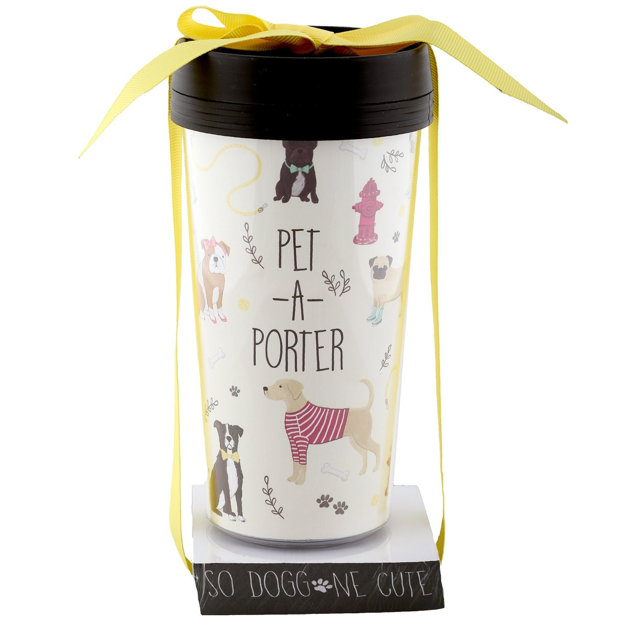 pet a porter travel mug gift set greatergood