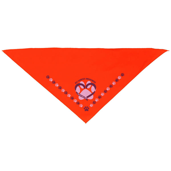Pet Cancer Awareness Pet Bandana