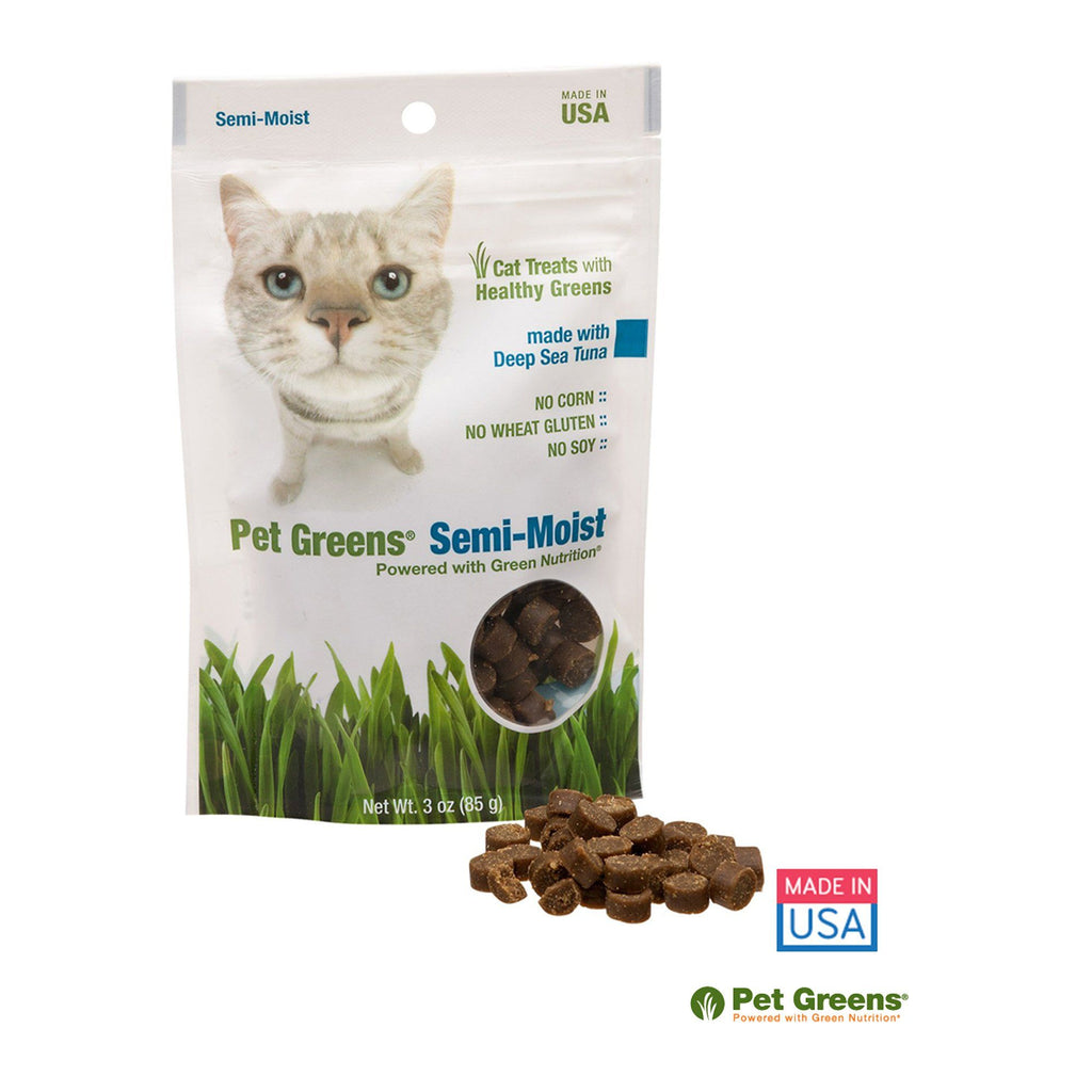 Pet Greens® Semi-Moist Tuna Cat Treats