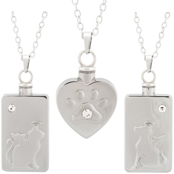 Pet Memorial Ash Necklace
