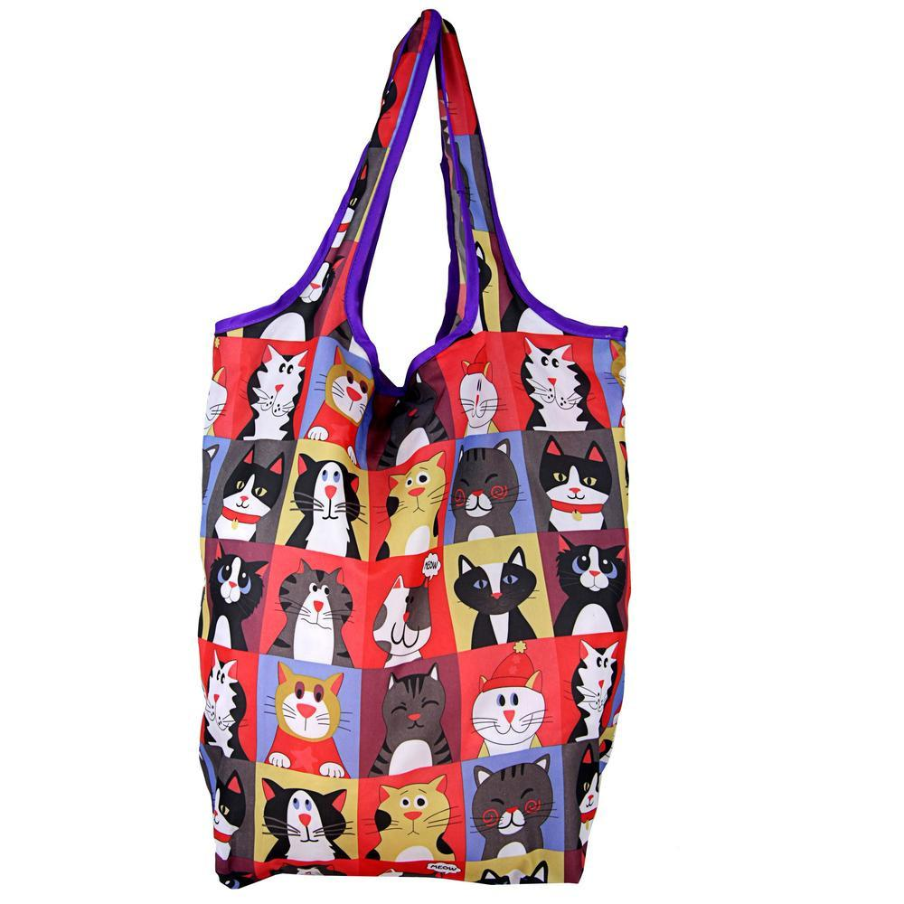 Pet Portrait Compact Shopping Bags