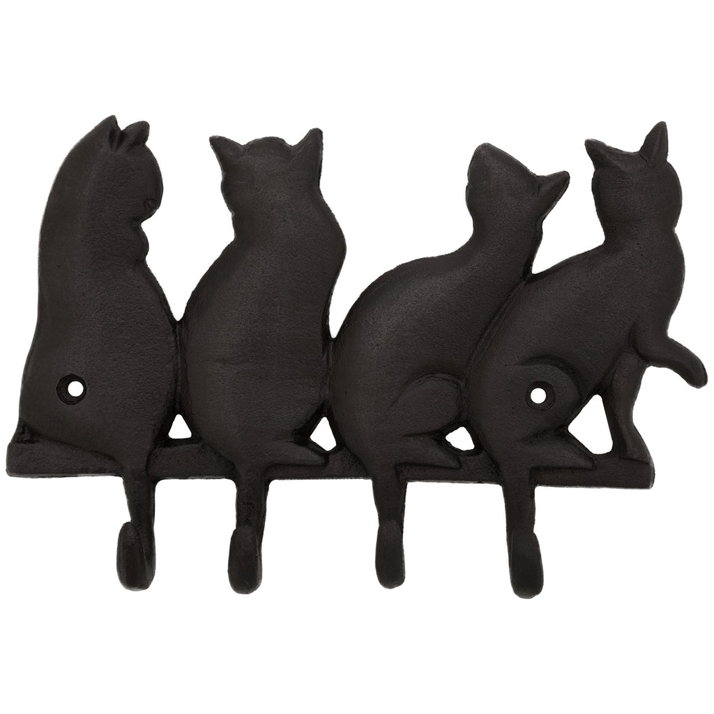 Pet Tails Cast Iron Wall Hooks