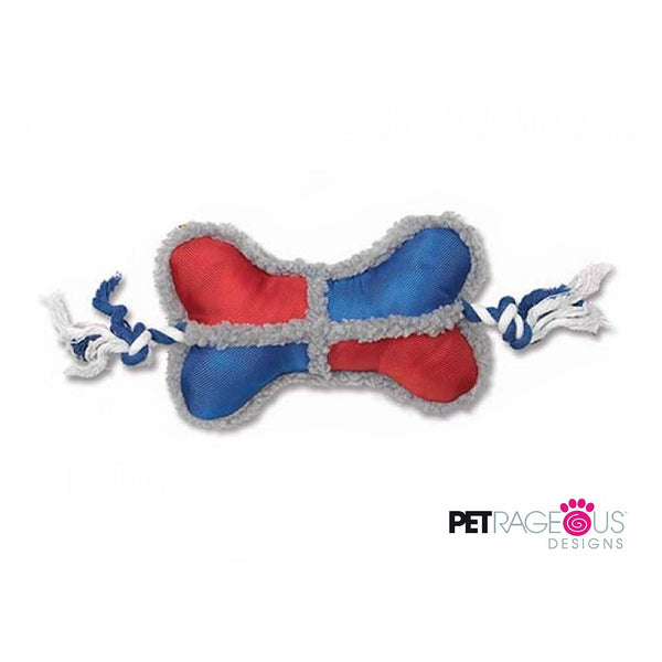 PetRageous® Tough Tug Bone