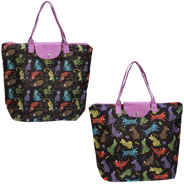 Pets Galore Folding Tote