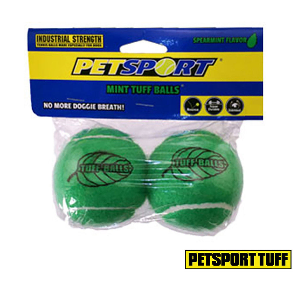 Petsport® Mint Ball Dog Toy - Set Of 2