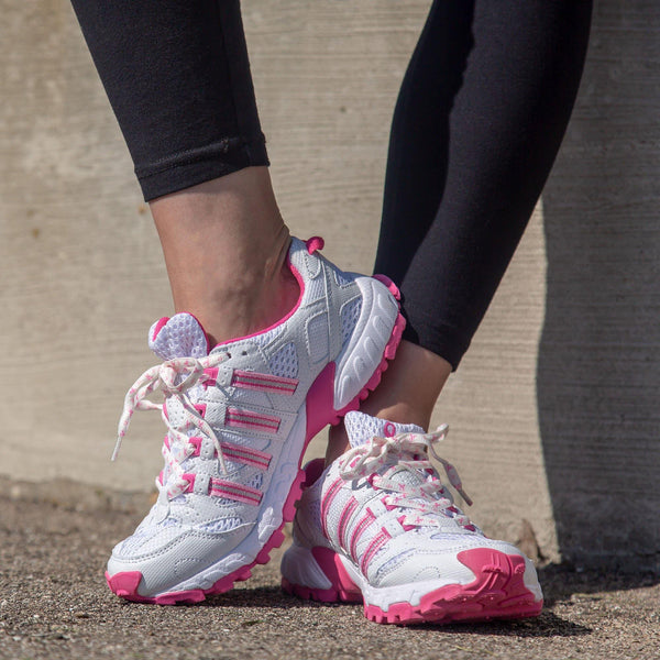 Pink Ribbon Cross-Training Shoes