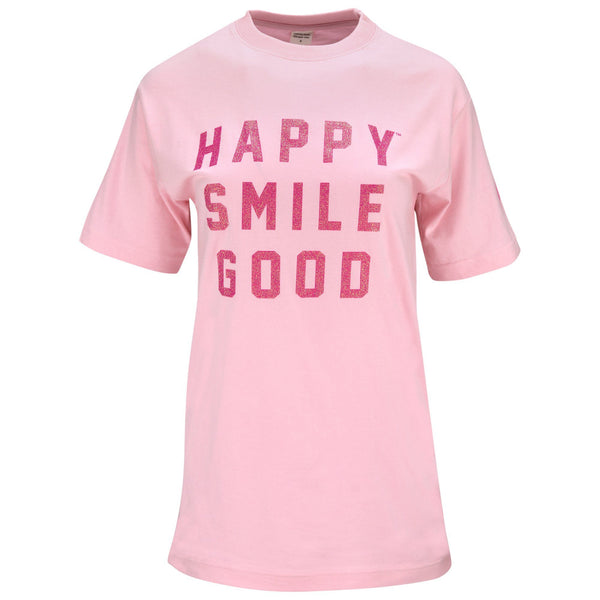 Pink Ribbon Happy Smile Good™ Adult T-Shirt
