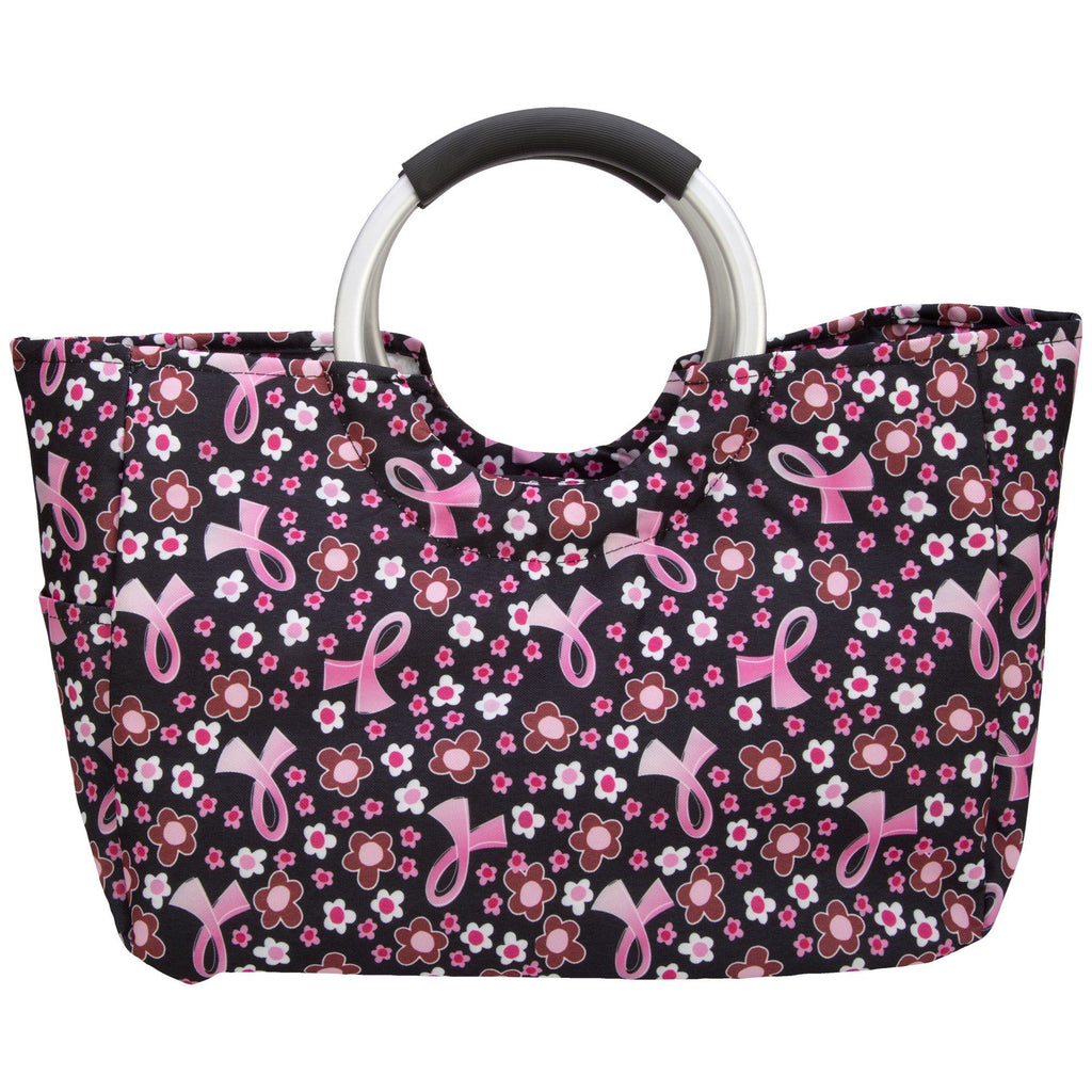 Pink Ribbon Insulated Shopping Bag