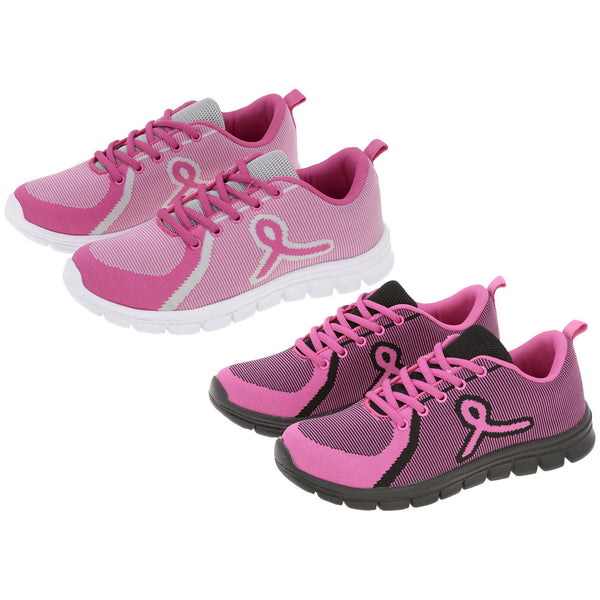 Pink Ribbon Training Shoes