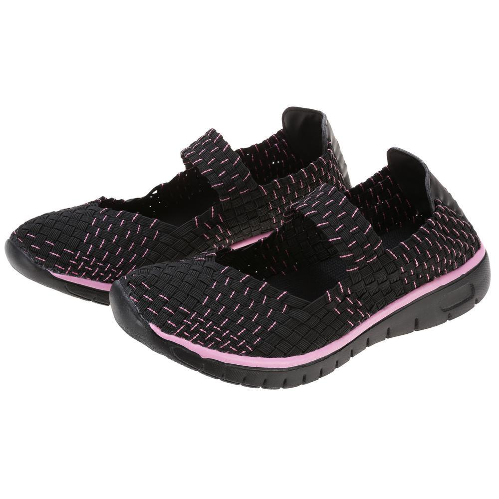 Pink Ribbon Ultralite™ Woven Mary Jane Shoes