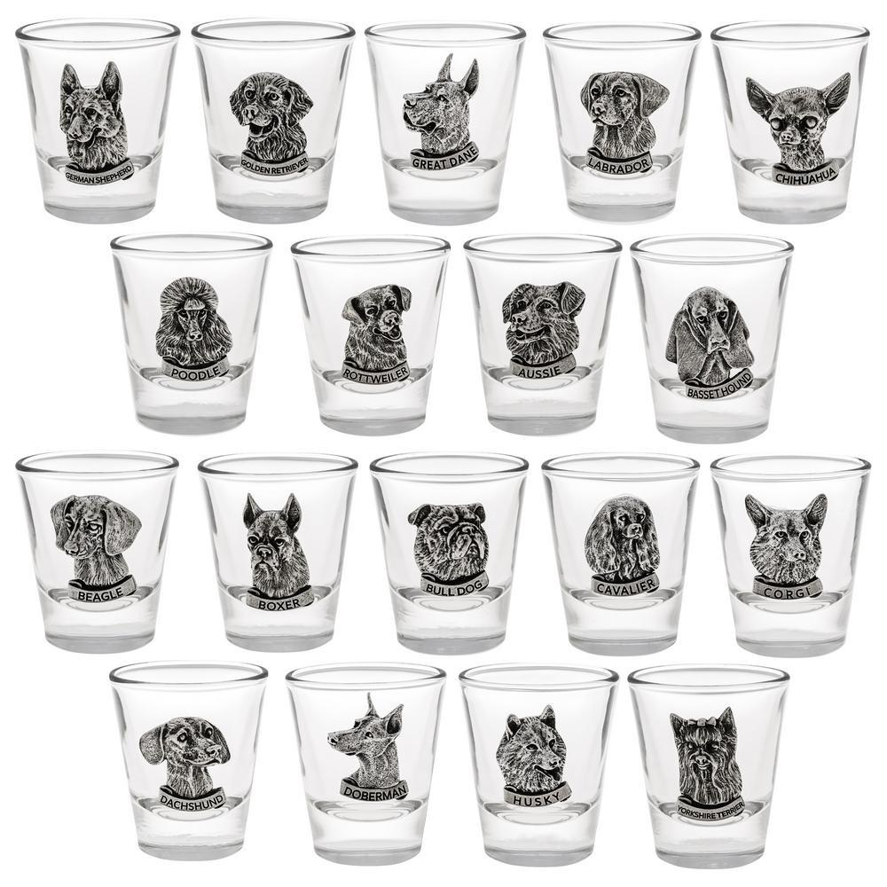 Precious Breeds Shot Glass