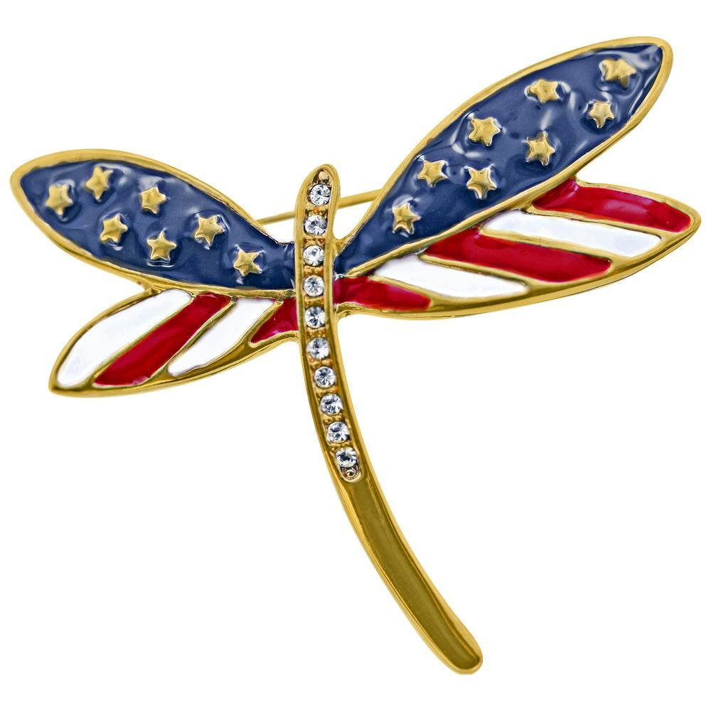 PROMO - Freedom To Fly Dragonfly Pin