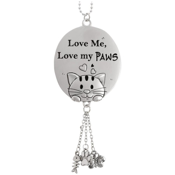 PROMO - Love Me Love My Paws Car Charm
