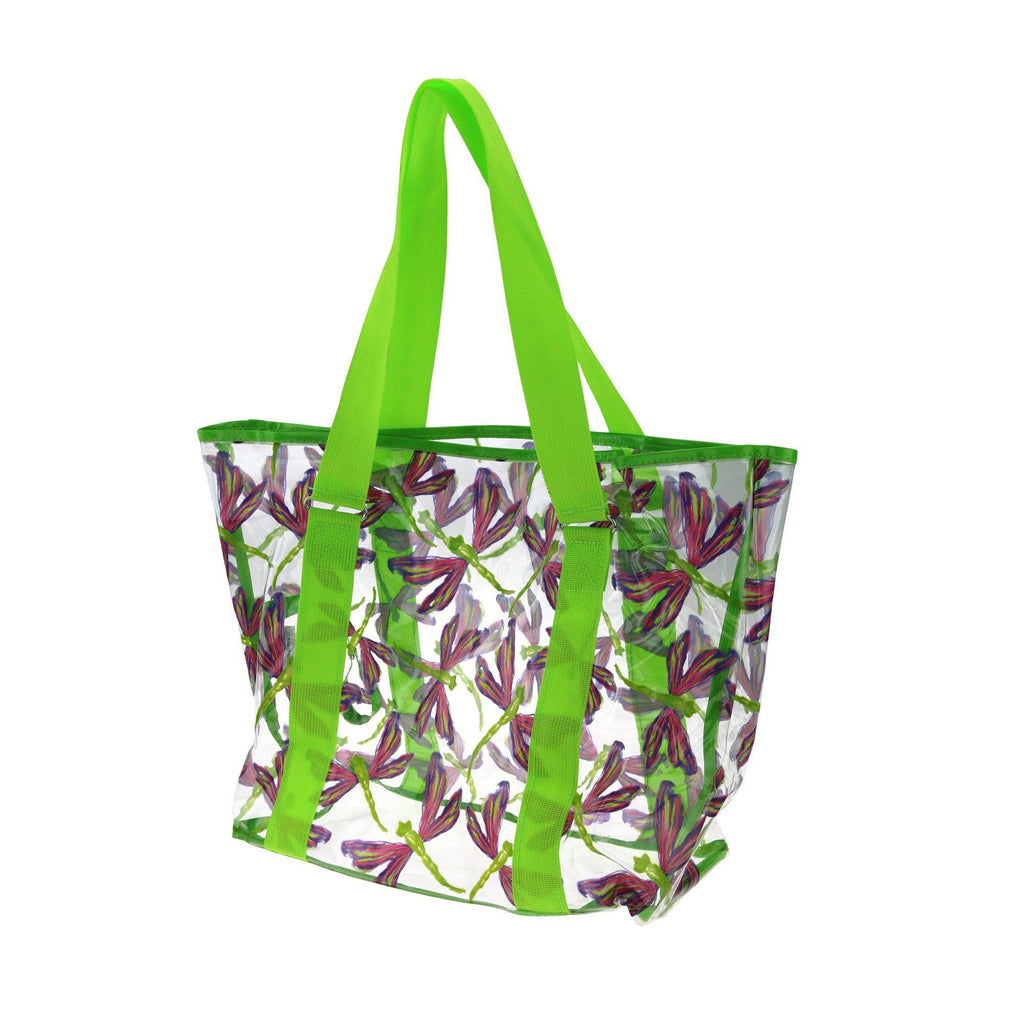 Promo - PROMO - Garden Dragonfly Clear Tote Bag